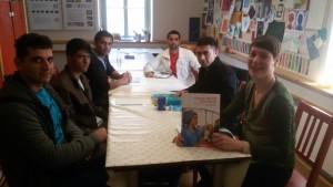 Deutschkurs in der Jugendkunstschule